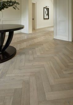 Lauzes Herringbone - Aged Wood Flooring- Woodworks By Ted Todd Hall Flooring, Living Room Flooring, Timber Flooring, Hardwood Floors, Parquet Flooring, Parquet Tiles, Modern Flooring, Plywood Floors, Laminate Flooring