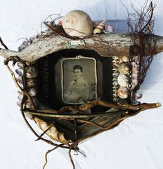 Lorraine Reynolds Ever thine assemblage from found objects, 2011)