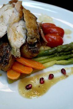 Γεμιστή γαλοπούλα και όλα τα μυστικά για να την απογειώσετε ⋆ Cook Eat Up! Meat, Chicken, Food, Essen, Meals, Yemek, Eten, Cubs
