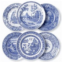 Spode China Blue Room Collection -  I Have Most Of These Different Patterns