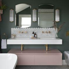Victorian Family Home Loft Bathroom, Family Bathroom, Bathroom Interior, Girl Bathrooms, Luxury Bathrooms, Small Bathroom, Bathroom Ideas, Bad Inspiration, Bathroom Inspiration