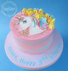 Easy Unicorn Cake, Unicorn Cakes, Cake Cookies, Cupcake Cakes, Iphone Cake, 7th Birthday Cakes, My Little Pony Cake, Girl Cakes, Buttercream Cake