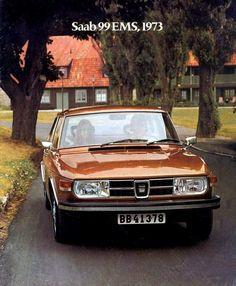 Mom's Dream Car - 1973 Saab 99 EMS
