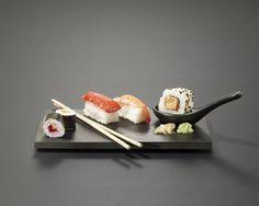 Schieferplatte 5mm 22x14cm Burger, Hot, Sushi, Japanese, Decoration, Ethnic Recipes, Fine Dining, Slate Plates, Kraft Paper