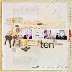 A Project by Wilna from our Scrapbooking Gallery originally submitted 01/02/12 at 09:37 AM