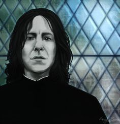 Snape Realism Attempt 2 by Angel-soma Professor Severus Snape, Harry Potter Severus Snape, Severus Rogue, Alan Rickman Severus Snape, Yer A Wizard Harry, Art Story, My People, Hogwarts, Jon Snow