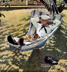 Original Norman Rockwell Paintings | Norman Rockwell's Home On Leave