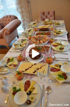 For more information, visit the post. #yemek #pratikyemek Buffet, Table Settings, Presentation, Strong Women, Fitness, Place Settings, Warrior Women, Catering Display, Lunch Buffet