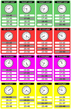 Home - meester Tim. Learn Dutch, Smart School, Math Poster, Clock For Kids, Primary Maths, Back 2 School, Telling Time, School Hacks, Math Classroom