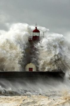 I feel like this lighthouse right now.