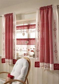 cortinas de la cocina