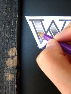 DIY chalkboard writing, from digital to print to chalk to chalk pen. Chalkboard Wedding, Chalkboard Lettering, Chalkboard Designs, Diy Chalkboard, Wedding Chalkboards, Blackboard Drawing, Chalk Typography, Blackboard Art, Chalkboard Quotes