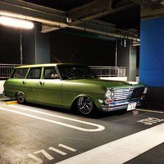 Low Chevy II wagon