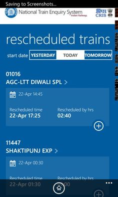 Indian Railways Launches The National Train Enquiry System (NTES) App