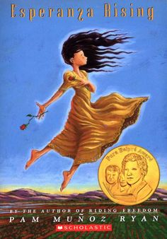 Esperanza Rising by Pam Munoz Ryan - in  school right now we are reading that book. i really want my own copy though, it's great