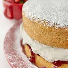 The famous KitchenAid Gluten Free Sponge cake recipe. Light and fluffy it's the sponge cake recipe everyone will enjoy.