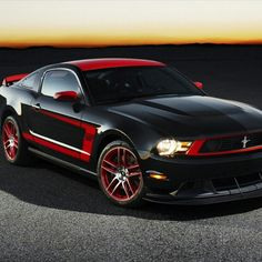 Ford Mustang - American Muscle Like the color design