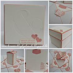 . Kreativ Blog by Claudi: Hochzeitsbox