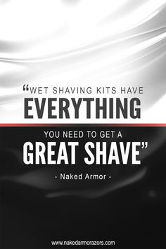 New to wet shaving? Get a shaving kit. It would be more practical and would save you more money rather than buying each of your shaving essentials by piecemeal. Wet shaving is not just about using a straight razor. It's also about the other tools and products used and a shaving kit.  Visit our website and get your own kit now!  #nakedarmor #wetshave #shaving #straightrazor #grooming #mensgrooming #barber #shavelikeaman #shavelikeyourgrandpa #shavingkit Razor Stand, Wet Shaving, Safety Razor, Straight Razor, Guys Be Like, Men's Grooming, Barber, Everything, Essentials