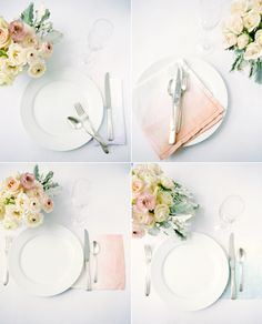 Colourful DIY Ombre #wedding projects via http://www.austinweddingblog.com/2012/07/ombre-diy-wedding-projects.html#