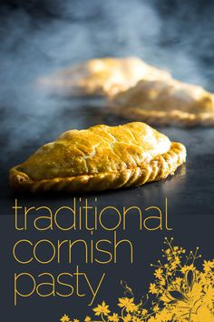 A traditional Cornish Pasty dates back to the century and is wrapped in all sorts of rumour and mystery, this version is as trad as it gets and it is unbelievable how much flavour you can get from such simple ingredients. Irish Recipes, Beef Recipes, Cooking Recipes, English Recipes, Empanadas, Cornish Pastry, Savory Pastry, Gourmet, Cake Recipes