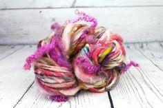 Handspun yarn - Spun Sugar Recycled Yarn, Hand Spinning, Sugar, Wool, Spinning, Spinning Yarn