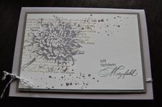 Stampin' Up! ... handmade sympathy card ... neutrals ... simple collage stamping ...