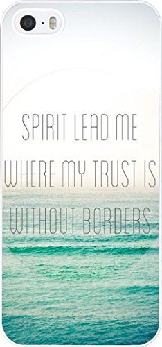 Iphone 5S Case Bible Verses,Case for Iphone 5 Christian Quotes Theme Spirit lead me where my trust is without borders Hungo http://www.amazon.com/dp/B00NHXYKB2/ref=cm_sw_r_pi_dp_mChovb058HN2W