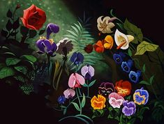 Blumen from Alice in Wonderland - Disney Foto
