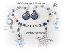 Kinderwagenkette  <!--kinderwagenkette--> Original Design, Washer Necklace, Beaded Bracelets, Etsy, Jewelry, The Petit Prince, Kids Wagon, Jewlery, Jewerly