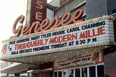 MEMORABLE LOST THEATRE GENESEE Movie THEATRE Marquee KALLET - West of Syracuse, NY