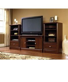centers for flat screen tvs with storage