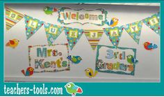 Cute welcome for students