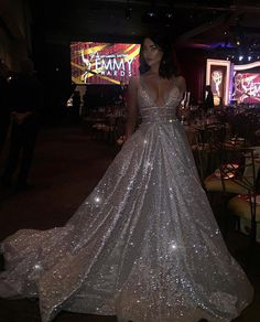 Actress Jacqueline MacInnes Wood sparkling in a #BERTA at #DatTimeEmmys ♥