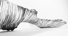 paper sculpture by Lison Barbier
