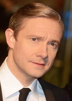 Forever repinning this. Martin Freeman you sexy handsome man.