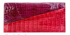 Nancy Gonzalez wallet / I like the shining crocodile leather and color cordination. It definitely goes with both elegance and casual look.