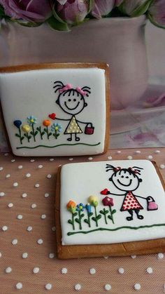 Cute cookie decoration