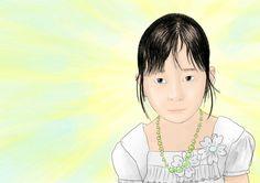 Japanese little girl