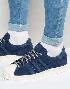 http://SneakersCartel.com adidas Originals Superstar 80's'Suede' (via ASOS) #sneakers #shoes #kicks #jordan #lebron #nba #nike #adidas #reebok #airjordan #sneakerhead #fashion #sneakerscartel