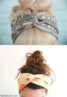 How to wear head scarf this summer?