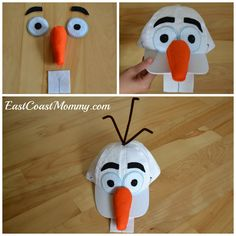 9cfb99c2f How to DIY/make Disney's Frozen Olaf Snowman baseball hat and t ...