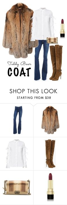 """Winter Warmth"" by kotnourka ❤ liked on Polyvore featuring Frame, Michael Kors, Jonathan Simkhai, Jimmy Choo, Chanel and Dolce&Gabbana"