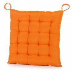 Cojín silla naranja 45 x 45 cm. Cojines decorativos en Nuryba.com tu tienda de cojines y decoracion online