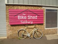 This is our place and home to jole rider's Bikes4Africa programme. www.THEBIKESHED-tetbury.net