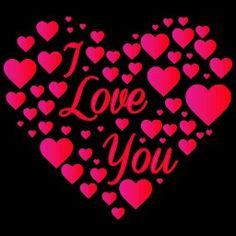 .I love you heart