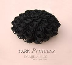 DARK PRINCESS - Danijela Bilic handmade bags