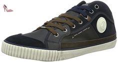 Pepe Jeans INDUSTRY HALF, Sneakers basses homme, Bleu (585Marine), 46 EU - Chaussures pepe jeans (*Partner-Link)