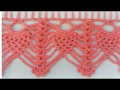 Crochet Lace Edging, Crochet Borders, Filet Crochet, Crochet Stitches, Lace Patterns, Crochet Patterns, Crochet Curtains, Crochet Bookmarks, Chiffon Saree