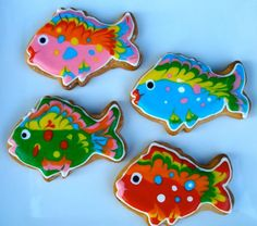 fish cookies - Google Search
